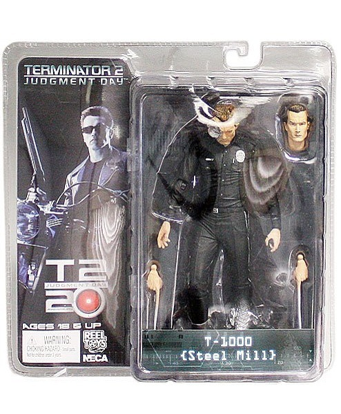 Terminator T-1000 Steel Mill action figur neca Neu