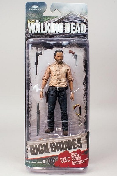 The Walking Dead Series 6 Rick Grimes action figur Neu