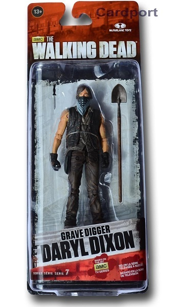 The Walking DeadTV 7,5 Grave Digger Daryl Dixon action figur Neu