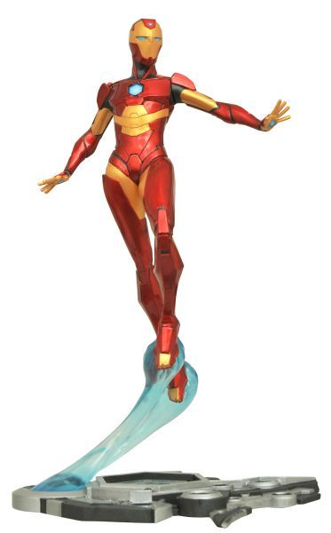 Marvel Gallery Ironheart Woman PVC Statue Diamond Select figur action Neu