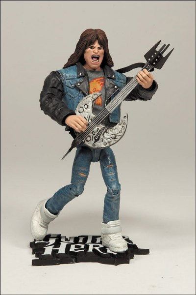 Guitar Hero Serie 1 Axel Steel action figur Neu