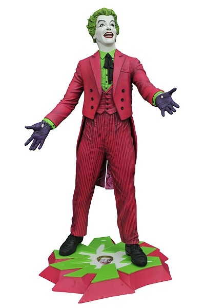 Batman 1966 TV Series Premium Collection Joker PVC Statue action figur Neu