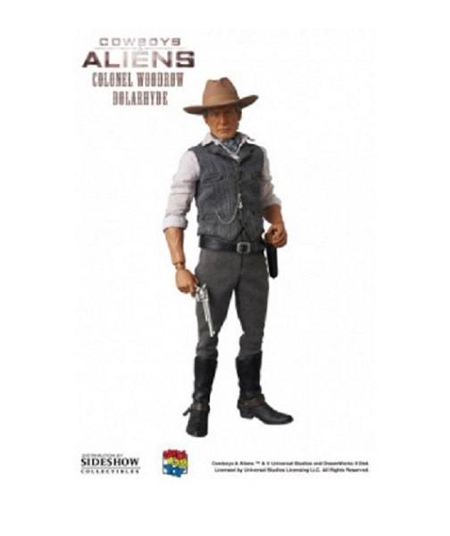 Cowboys & Aliens Colonel Woodrow Dolarhyde RAH action figur Neu