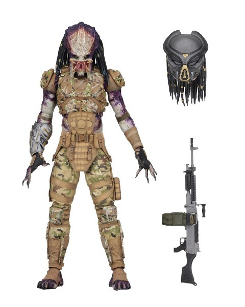 Predator 2018 Ultimative Emissary Deluxe action figur neca. Neu