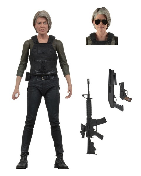 Terminator Dark Fate 2019 Sarah Connor action figur neca Neu